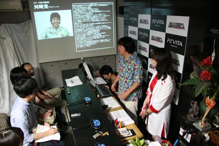 「特撮の巨匠」河崎実監督による『地球防衛軍3 ポータブル』実写化記念「日本一B級な製作発表会」
