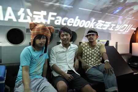 写真左から:カタマリ テクニカルディレクター 小山智彦(さくーしゃ)さん、博報堂 クリエイティブディレクター 野添剛士さん、AID-DCC inc. COO兼プランナー 富永勇亮さん
