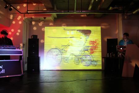 Red Bull Collective Art レセプションパーティー