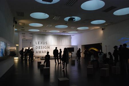 『LEXUS DESIGN AMAZING 2013 MILAN』会場風景