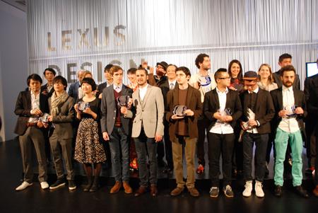 「LEXUS DESIGN AWARD」12組の受賞者たち