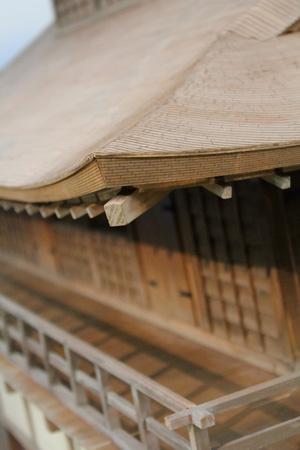 『清須会議』「清須城」の模型(部分)