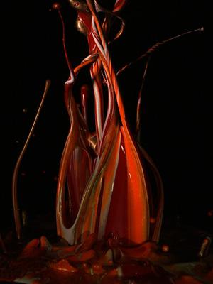 「あかあかと 日はつれなくも 秋の風」(松尾芭蕉)と共に表示されるSound of Ikebanaの「秋」の動画より
