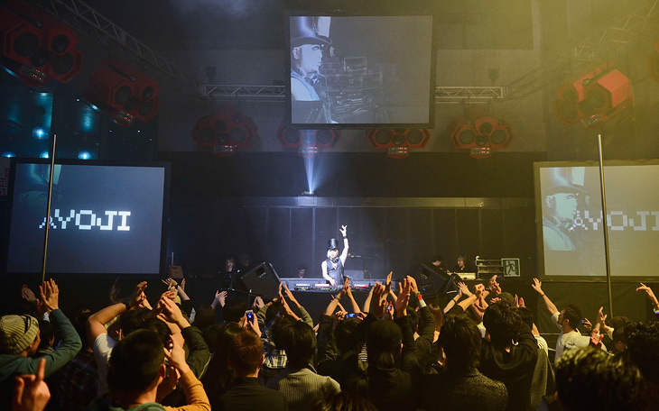 日本最大規模のハコをタブレット端末の快感が満たした夜
