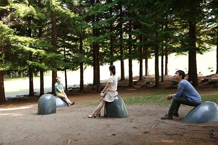 スーザン・フィリップス『カッコウの巣』2011年 提供:創造都市さっぽろ・国際芸術祭実行委員会 photo:Keizo Kioku