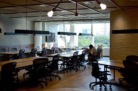 虎ノ門ヒルズにあるアイレット新オフィス