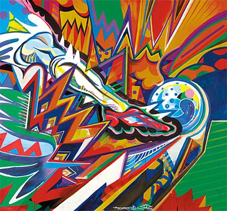 フライドポテトパッケージ写真「Kick the One」by DOPPEL(DOPPEL公式サイトより)