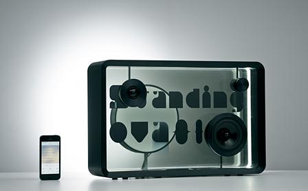 Lyric speakerコンセプトモデル