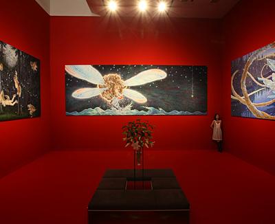 『赤の部屋』東京オペラシティアートギャラリー ©Tomoko Konoike