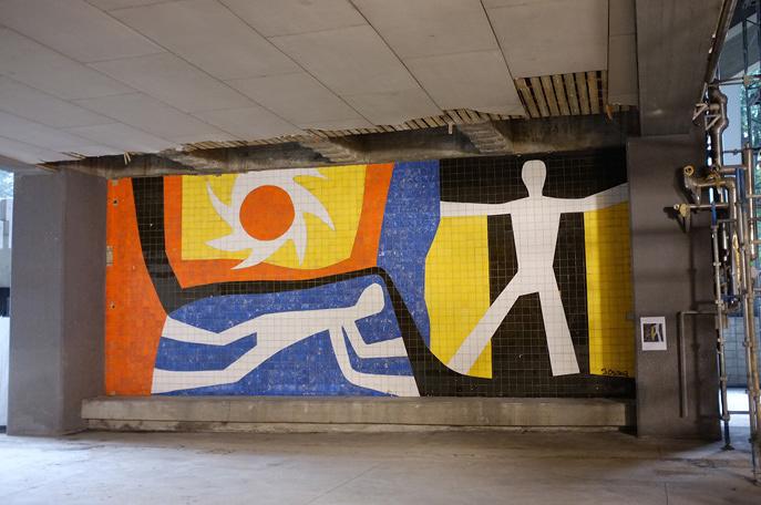 国立競技場解体後、東京五輪を彩った壁画たちはどこへ行くのか?