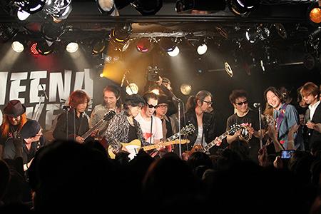 シーナへの愛を込めて、日本ロック史の縮図のようなステージとなった追悼ライブ
