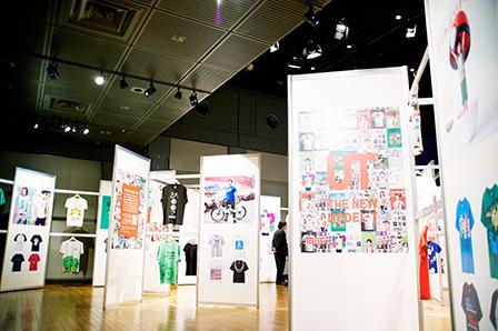 2015年の「UT」春夏コレクション特別展示の展示風景 撮影:近藤みどり