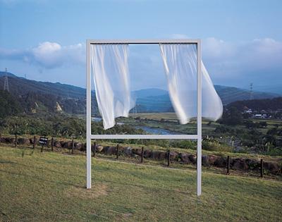 『大地の芸術祭 越後妻有アートトリエンナーレ』 内海昭子『たくさんの失われた窓のために』 photo:H. Kuratani