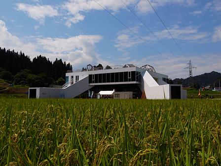 MVRDV『まつだい雪国農耕文化村センター「農舞台」』 photo:Osamu Nakamura