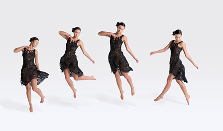 3Dプリントドレス「Nervous System Kinematic Dress」