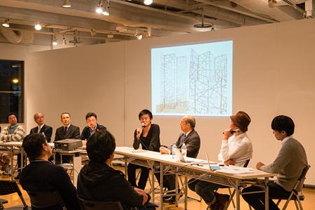 『YOKOHAMA CREATIVE WEEK』トークイベント風景(右から4人目がNOSIGNER太刀川英輔) photo by Toshiyuki Udagawa