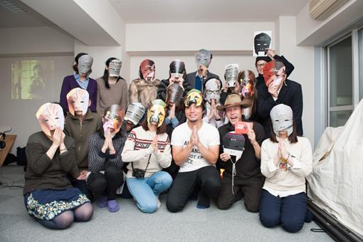 『ムーラン・ド・ラ・ギャレットでカラオケを』アーティストトークの参加者たち