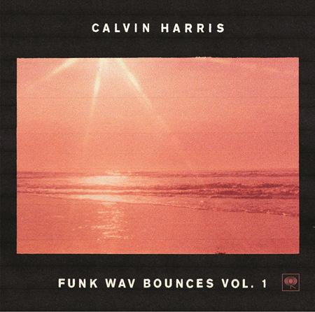 カルヴィン・ハリス『Funk Wav Bounces Vol. 1』ジャケット