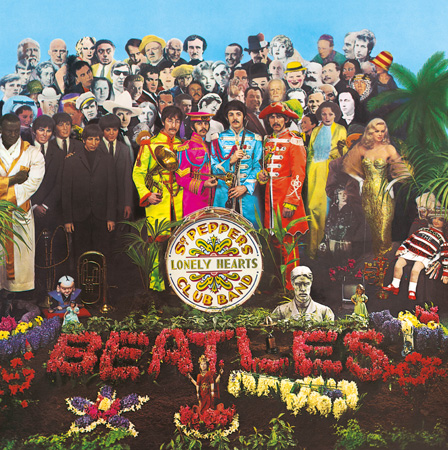The Beatles『Sgt. Pepper's Lonely Hearts Club Band』ジャケット