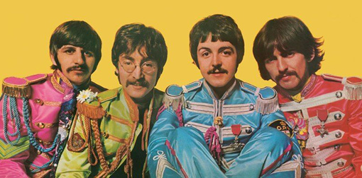 『Sgt. Pepper's Lonely Hearts Club Band』リリース時のThe Beatles