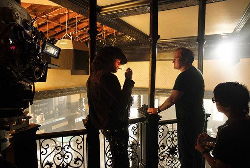 強烈な演技が光る、ディカプリオ演じるリック・ダルトン